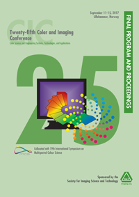 Twenty Fifth Color and Imaging Conference