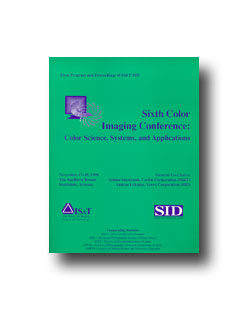 Sixth Color Imaging Conference (CD)