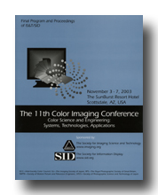 Eleventh Color Imaging Conference