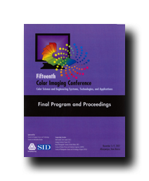 Fifteenth Color Imaging Conference