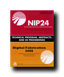 NIP24: Int'l Conf. on Digital Printing Technologies (CD)