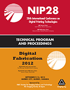 NIP28: Int'l Conf. on Digital Printing Technologies