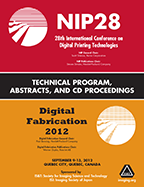 NIP28: Int'l Conf. on Digital Printing Technologies (CD)