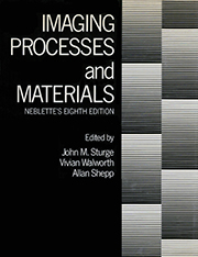 Imaging Processes and Materials: Neblette's Eighth Edition