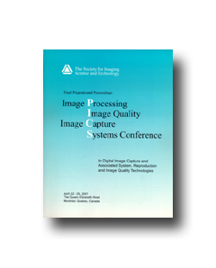 PICS 2001: Image: Processing, Quality, Capture, Systems Conf