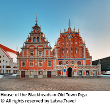 House of the Blackheads in Old Town Riga