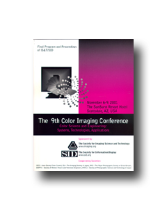 Ninth Color Imaging Conference