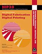 NIP30: Int'l Conf. on Digital Printing Technologies (USB)
