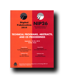 NIP26: Int'l Conf. on Digital Printing Technologies (CD)